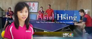 "Ariel Hsing Talks ""Ping Pong Diplomacy"