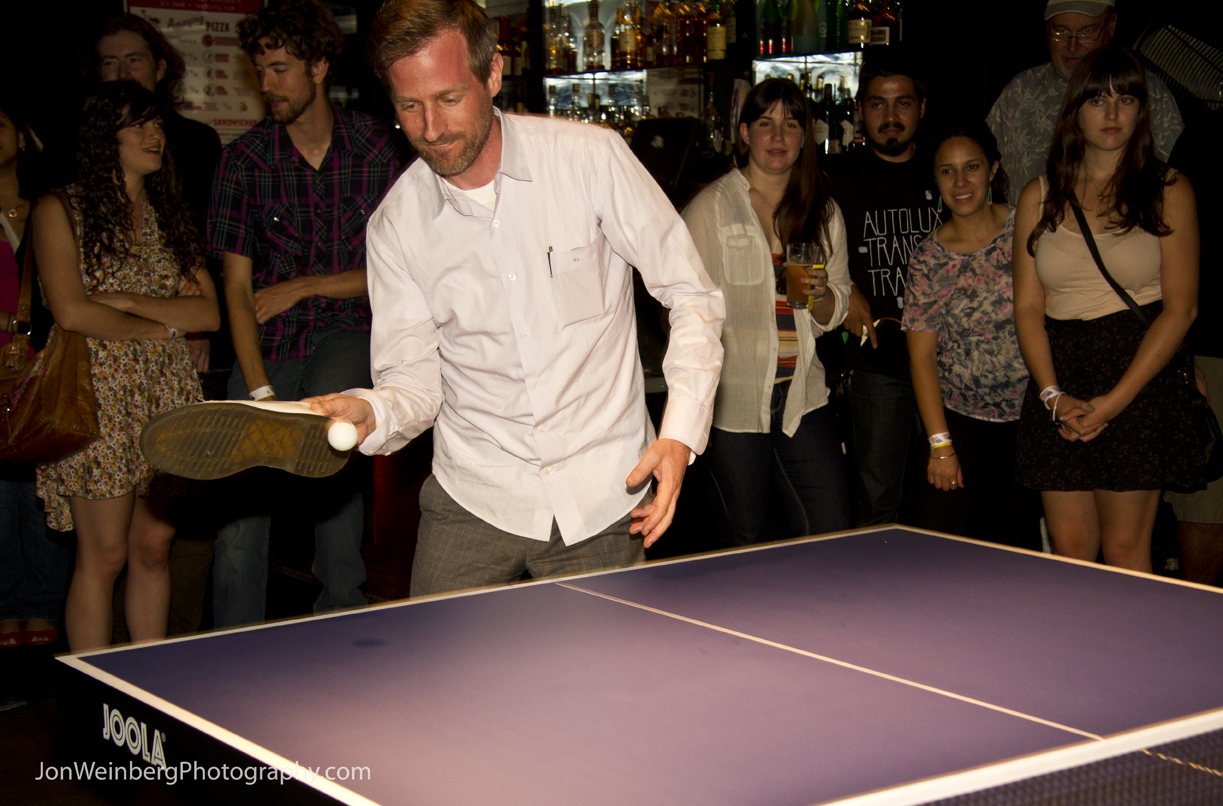 Spike Jonze playing for 826LA