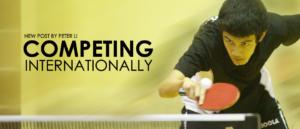 Peter Li Competing Internationally