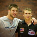 NFL Pro Tim Tebow & JOOLA's Table Tennis Pro Trevor Runyan