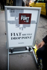 Fader Fort By Fiat Shuttle!