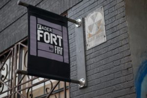 Fader Fort By Fiat NYC