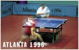 JOOLA 1996 Atlanta Olympic Table Tennis Table