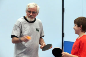 Roger Bernstein Using Table Tennis Therapy For Social Disorders