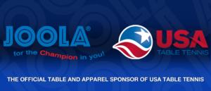 JOOLA Partners With USA Table Tennis