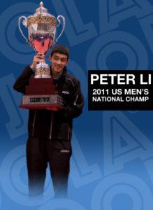 Peter Li, 2011 US Men's National Champ