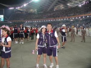 Khoa & Whitney at the 2004 US Olympics