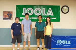 Coach Doon Wong, Richard, Alex Yang, Katherine