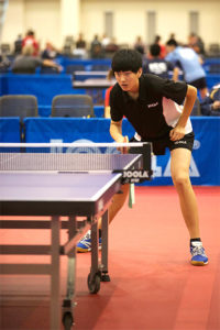 Allen Wang at the 2012 US Open Table Tennis Championships