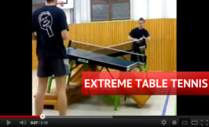 Extreme Table Tennis Video