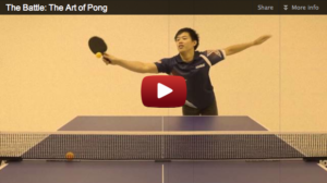 The Battle: The Art of Pong