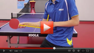 iPong Lessons: Grip, Stance, Forehand Hit