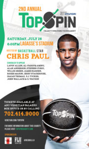 2014 Topspin Charity Event With Chris Paul