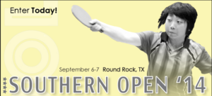 2014 Southern Open Coming Soon!