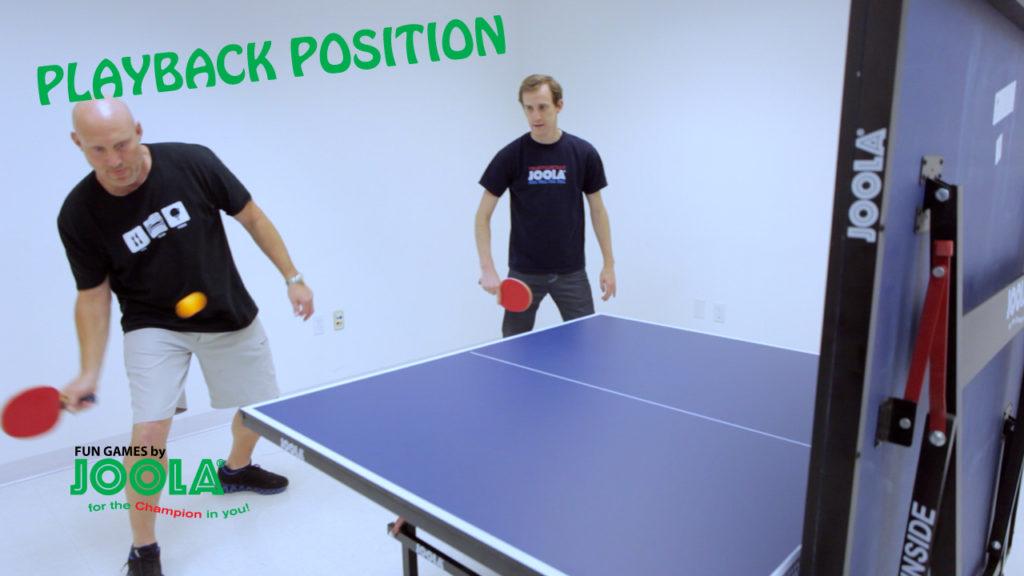JOOLA Fun Games: The Playback Position