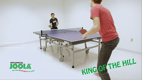 King of The Hill Table Tennis