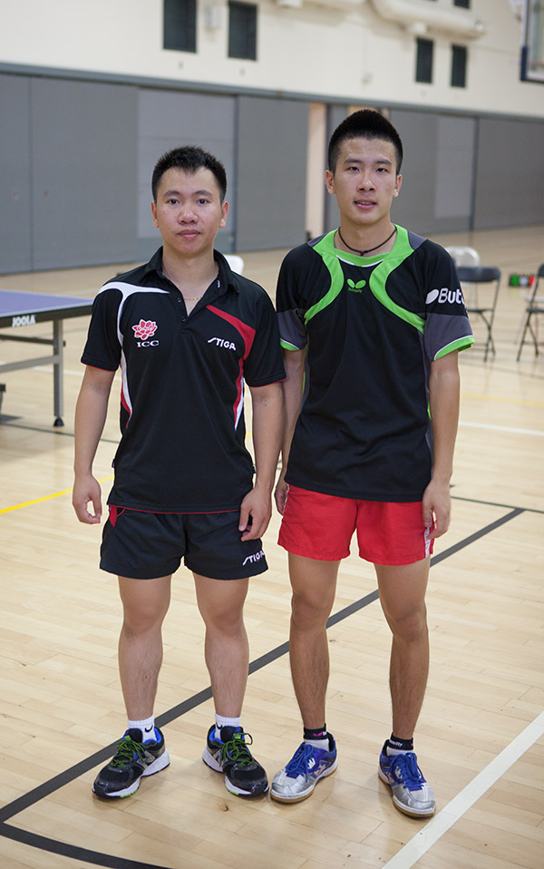 Liang Yonghui (Left), Zhang Xiang Jing (Right)