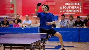 2014 Southern Open Singles Winner: Jim Butler