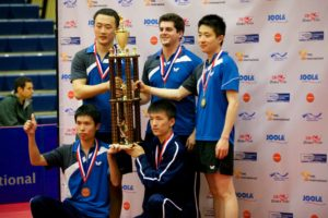 Michael Bachtler Visits JOOLA USA and the 2015 TMS College Table Tennis National Championships