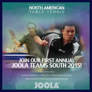 First Annual JOOLA Teams South and JOOLA Teams West