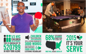 JOOLA Supports Education at TopSpin New York