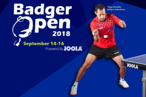 2018 Badger Open Powered By JOOLA