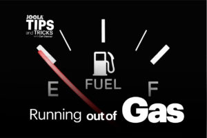 Running out of gas