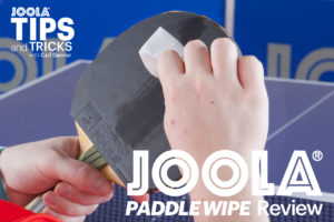 JOOLA Paddle Wipes Review By Carl Danner, JOOLA USA Coach
