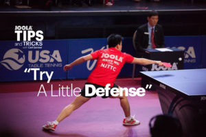 Tips and Tricks with Carl Danner: Try a Little Defense