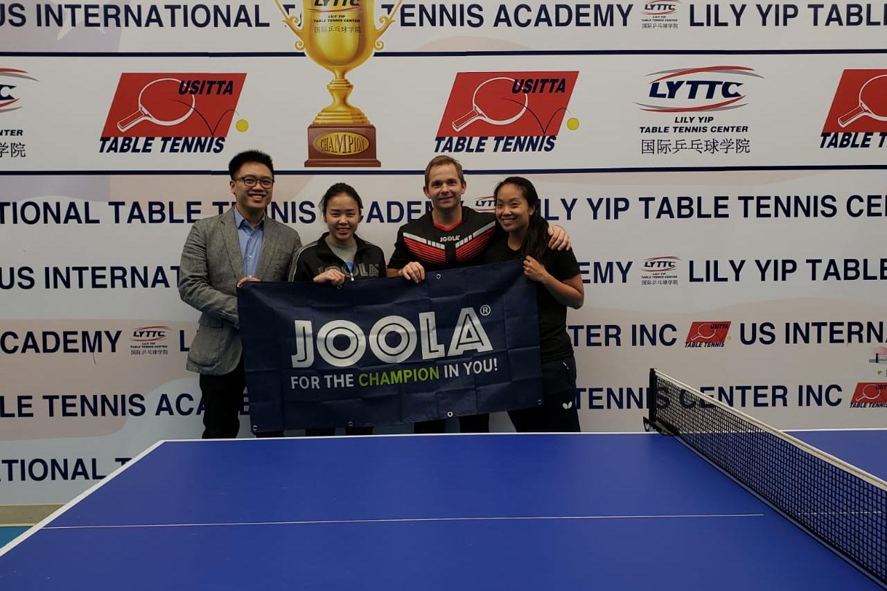JOOLA Signs Lily Yip TTC