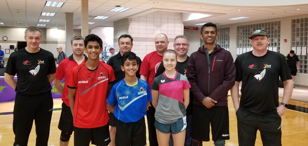 Staff and Juniors of Experior Table Tennis Club
