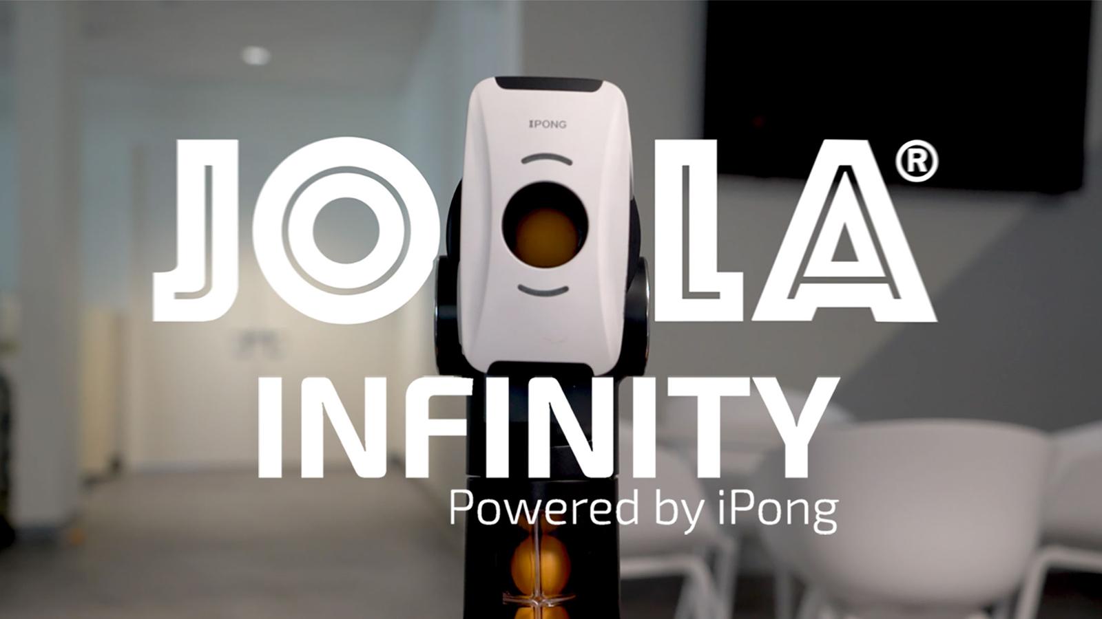 JOOLA Infinity Smart Table Tennis Training Robot