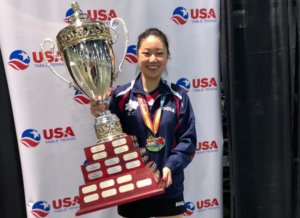Lily Zhang Champion