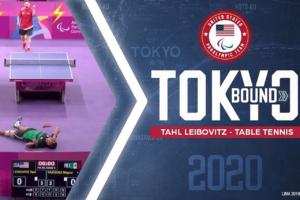 Tahl Lebovitz is headed to Tokyo 2020