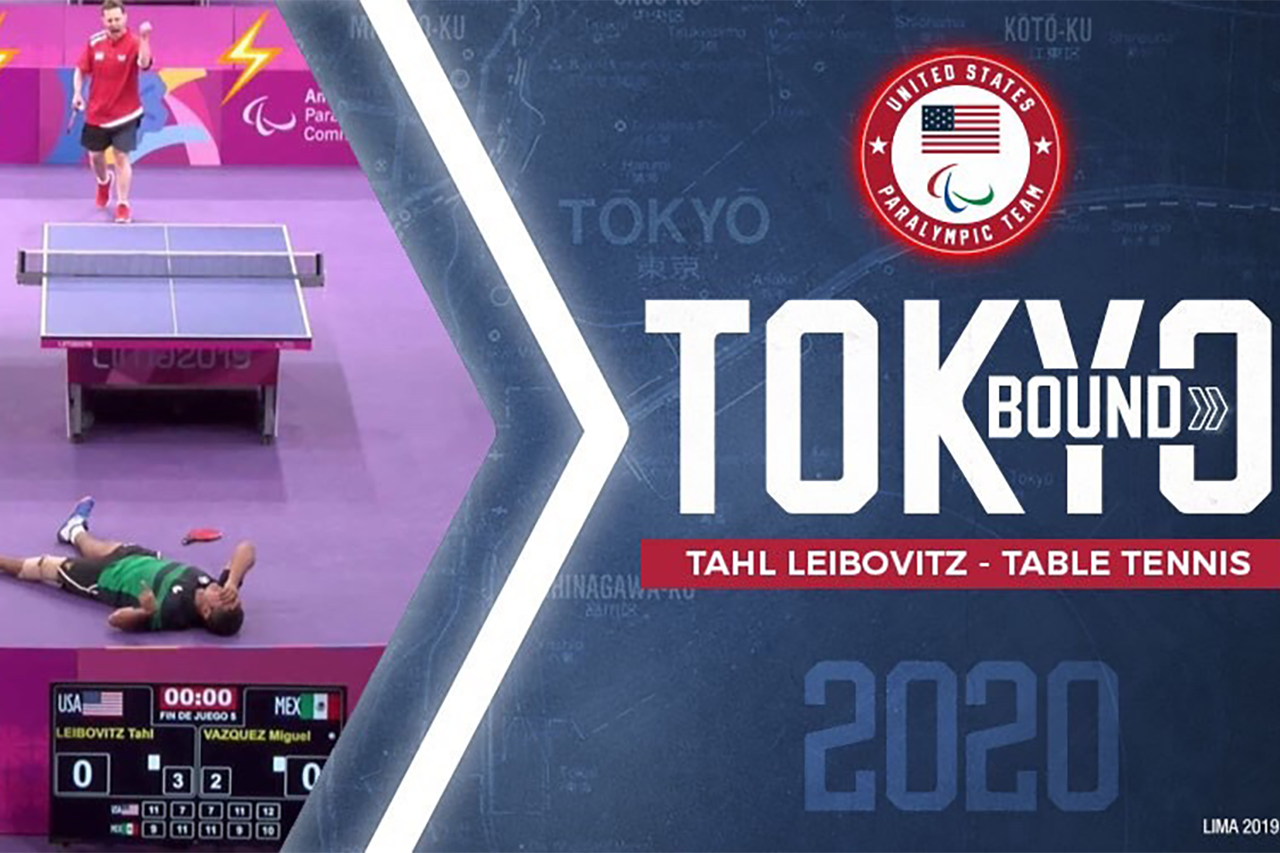 Tahl Lebovitz is headed to Tokyo 2020