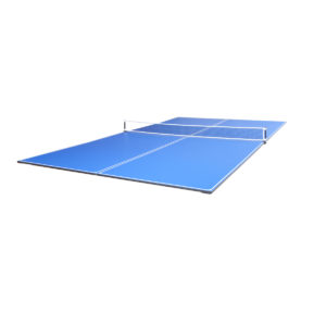 JOOLA 4-Piece Tetra Conversion Table Tennis Top with Net Set