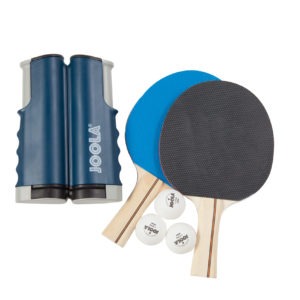 JOOLA ESSENTIALS VARIANT Complete Table Tennis Set (includes Retractable Net, 2 Rackets & 3 Balls)
