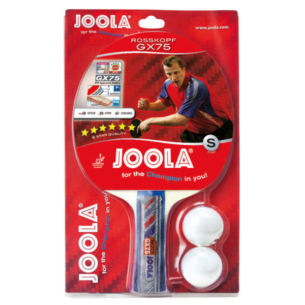 JOOLA ROSSKOPF GX75 Table Tennis Racket (flared)