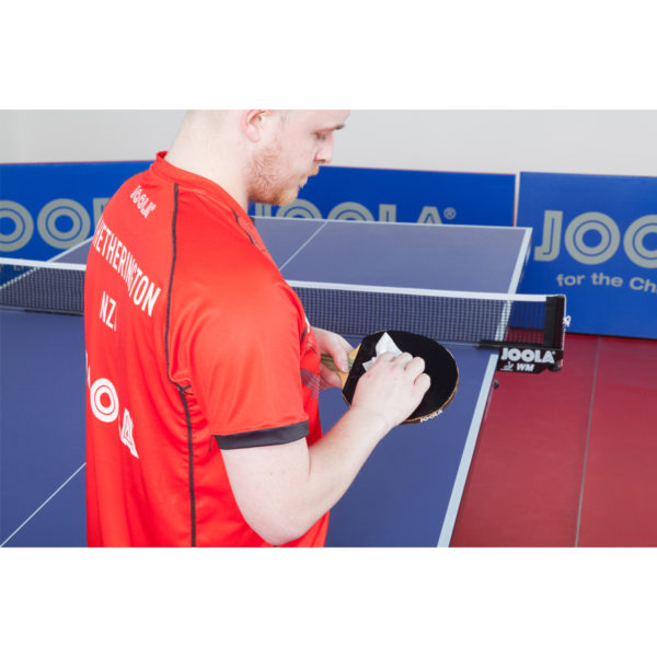 JOOLA Single-Use Table Tennis Paddle Rubber Cleaning Wipes, 18ct