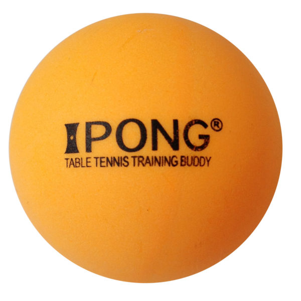 iPong 2-Star Table Tennis Training Ball Set (100 Count) - Orange