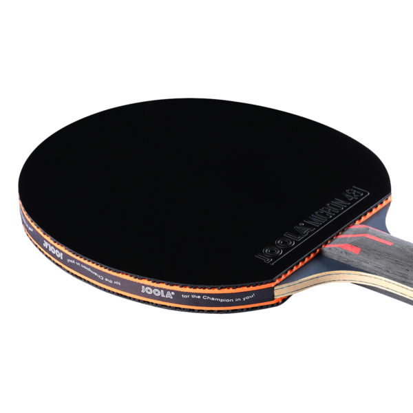 JOOLA INFINITY OVERDRIVE Table Tennis Racket with Carbon-Kevlar Blade & Micron 48 Rubber (flared) - Paddle
