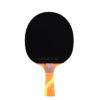 JOOLA OMEGA STRATA Table Tennis Racket with Riff 34 Rubber (flared) - orange